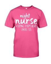Night nurse Classic T-Shirt front