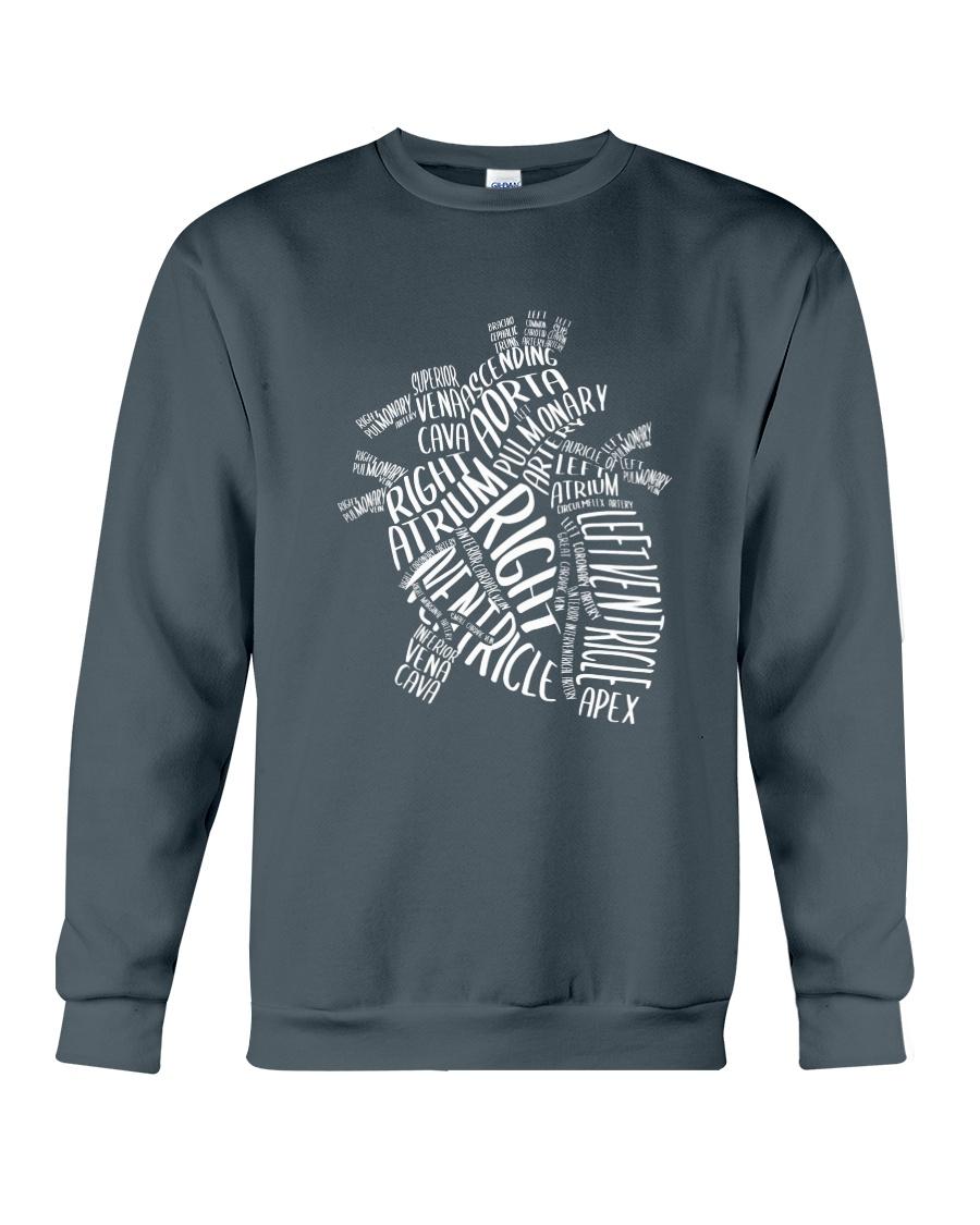 Nurse -Anatomical Crewneck Sweatshirt
