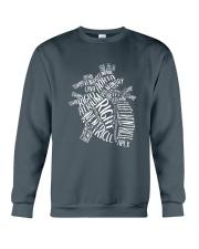 Nurse -Anatomical Crewneck Sweatshirt front