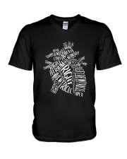 Nurse -Anatomical V-Neck T-Shirt thumbnail