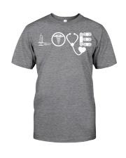 Nurse - Love Classic T-Shirt front