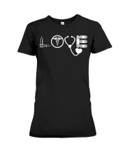 Nurse - Love Premium Fit Ladies Tee thumbnail