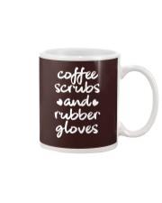 Coffee Scrubs And Rubber Gloves Mug thumbnail