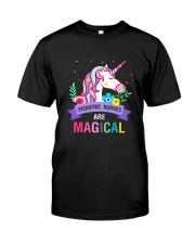 Pediatric Nurses Are Magical Classic T-Shirt front
