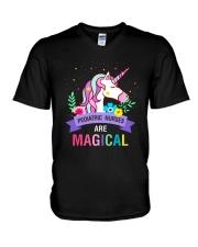 Pediatric Nurses Are Magical V-Neck T-Shirt thumbnail