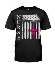 Nurse - Flag Classic T-Shirt front