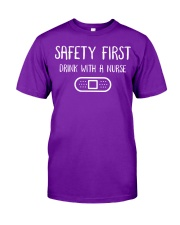 Safety First Classic T-Shirt front