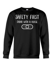 Safety First Crewneck Sweatshirt thumbnail