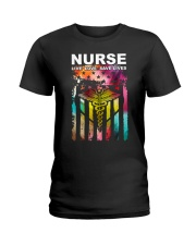 Colorful Flag Ladies T-Shirt thumbnail