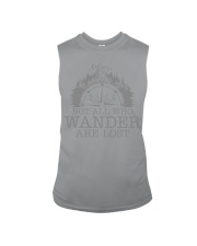 Not All Who Wander Are Lost Sleeveless Tee thumbnail