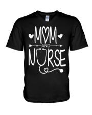 Mom and nurse V-Neck T-Shirt thumbnail
