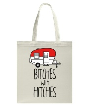 Bitches With Hitches Tote Bag thumbnail