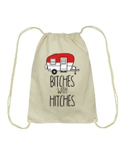 Bitches With Hitches Drawstring Bag thumbnail