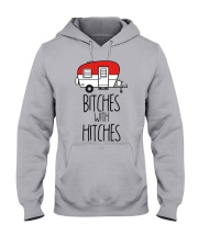 Bitches With Hitches Hooded Sweatshirt thumbnail