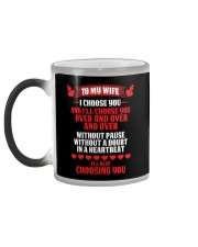 To My Wife - Color Changing Mug Color Changing Mug color-changing-left