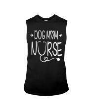 Dog mom nurse Sleeveless Tee thumbnail