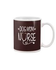 Dog mom nurse Mug thumbnail