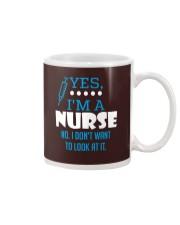 Yes I'm a nurse Mug thumbnail