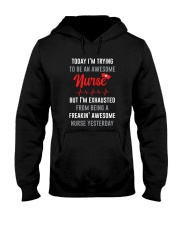 Awesome Nurse Hooded Sweatshirt thumbnail