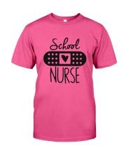 School Nurse 1 Classic T-Shirt front