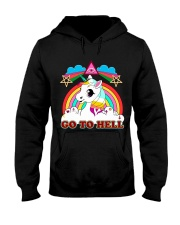 UNICORN - GO TO HELL Hooded Sweatshirt thumbnail