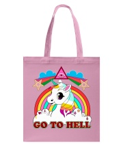 UNICORN - GO TO HELL Tote Bag thumbnail