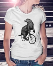 OTTER - RIDE BICYCLE Ladies T-Shirt lifestyle-women-crewneck-front-7
