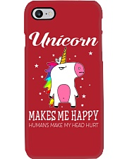 UNICORN MAKE ME HAPPY Phone Case i-phone-7-case