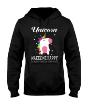 UNICORN MAKE ME HAPPY Hooded Sweatshirt thumbnail