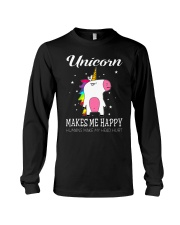 UNICORN MAKE ME HAPPY Long Sleeve Tee thumbnail