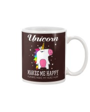 UNICORN MAKE ME HAPPY Mug thumbnail