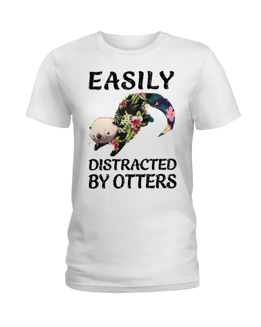 OTTERS - EASILY Ladies T-Shirt