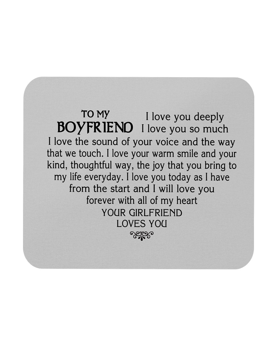 Best Gift For Your Boyfriend 2019 Mousepad