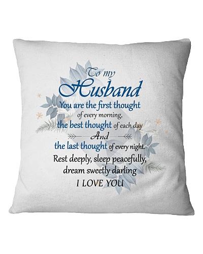 To Husband -Sleep Peacefully And Dream Sweety