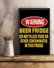 warning-beer fridge 11x17 Poster lifestyle-poster-3