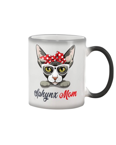 Sphynx Mom T-shirt Women T-shirt
