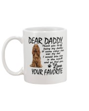 Cocker Spaniel Mug back