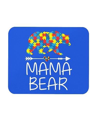Mama Bear Autism Awareness T-Shirt Autism Mom