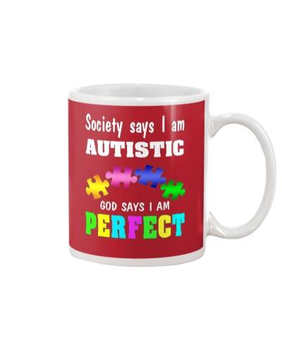 Autism Awareness Shirt - God Says