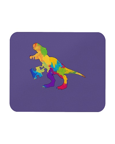 Autism Awareness Shirt For T-Rex Dinosaur