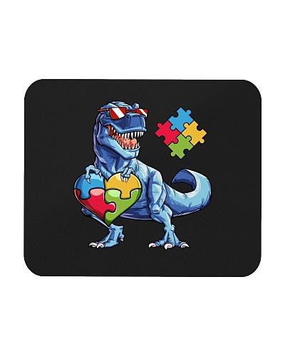 Dinosaur Puzzle Piece  Autism Awareness