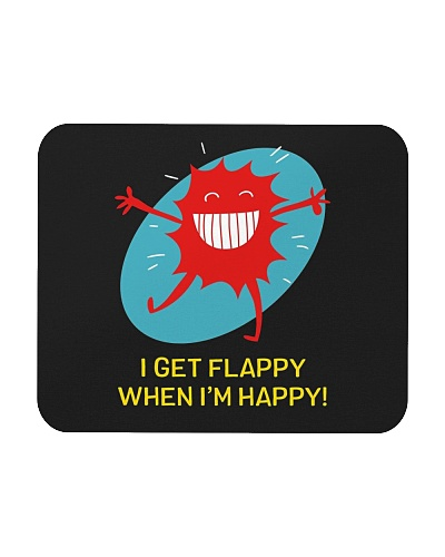 I Get Flappy When I'm Happy Funny Autism