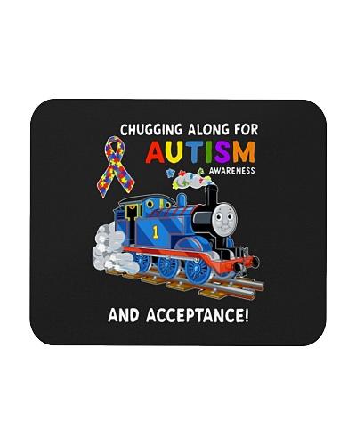chugging along for autism awareness