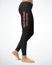 World's most adequate golfer Ladies Leggings lifestyle-leggings-right-1