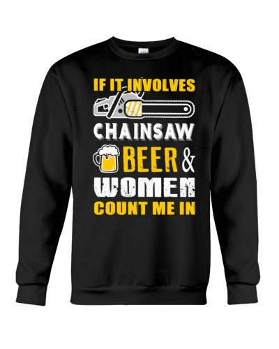 chainsaw-beer-and-women-logger-t-shirts