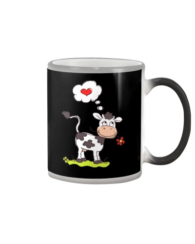 Cow shirt -Cow In love