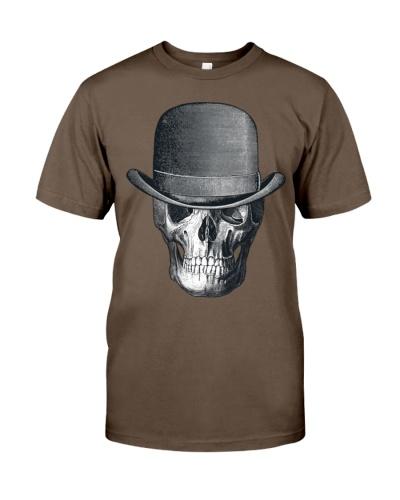 Vintage skull head cowboy