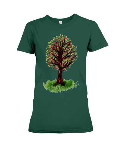 Colorful Leaves On Tree Shirt