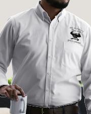 Just an ordinary Demi-dad Dress Shirt garment-embroidery-dressshirt-lifestyle-02