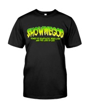 SHOWMEGOD Not All Monsters Are Ugly - T-Shirt Classic T-Shirt front